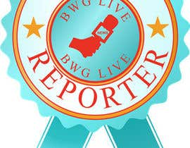 #4 for Design a Logo for bwglive.ca LIVE REPORTERS af kdv1990
