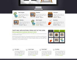 nº 3 pour Design a Website Mockup for Fun Mac Software site. par designgallery87