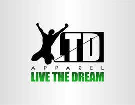 #62 untuk Design a Logo for LTD apparel: Live the Dream oleh eremFM4v