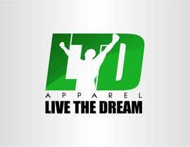 #63 untuk Design a Logo for LTD apparel: Live the Dream oleh eremFM4v
