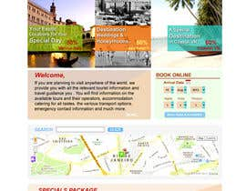 nº 9 pour Create a Website Layout for a Tourism Company par suvra4ever