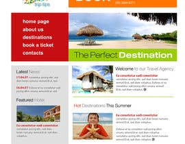 nº 2 pour Create a Website Layout for a Tourism Company par paliborek