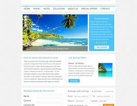 nº 1 pour Create a Website Layout for a Tourism Company par Wbprofessional