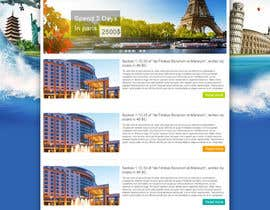 nº 21 pour Create a Website Layout for a Tourism Company par Wbprofessional