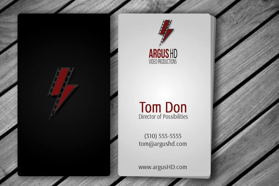 #33 for Business Card Design Contest : Using logo provide by amitpadal