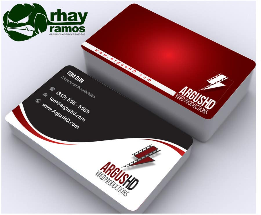 #14 for Business Card Design Contest : Using logo provide by rhayramos11