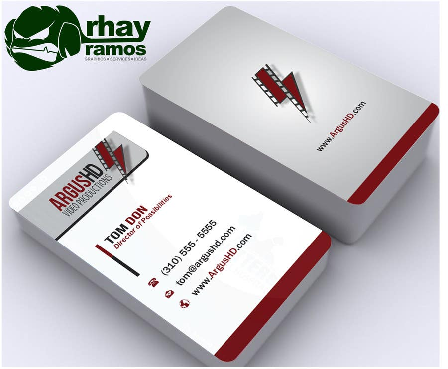 #46 for Business Card Design Contest : Using logo provide by rhayramos11
