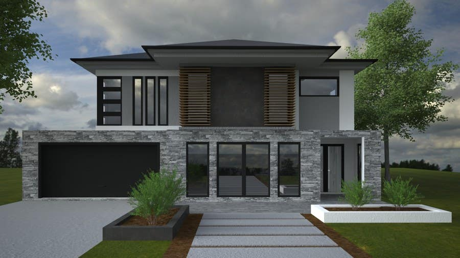Modern house facades designs house design for Modern house facade home design