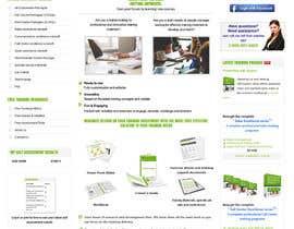 shakthish tarafından Above the fold webpage design için no 3