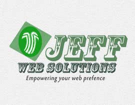 nº 82 pour Design a Logo for Jeff Web Solutions par ginjin
