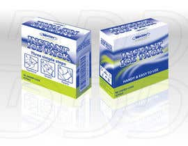 ntandodlodlo tarafından 2 x ARTWORK PACKAGING (INSTANT ICE PACK & NON-WOVEN PAPER TAPE) için no 8