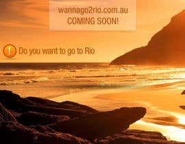 #21 for Design a Website Mockup for wannago2rio.com.au by vitalblaze