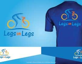 "nº 11 pour Biking jersey design for ""Legs on Legs"" par mariusfechete"