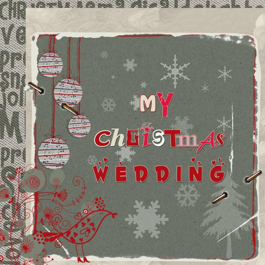 Bài tham dự cuộc thi #12 cho Christmas Wedding Site Graphics