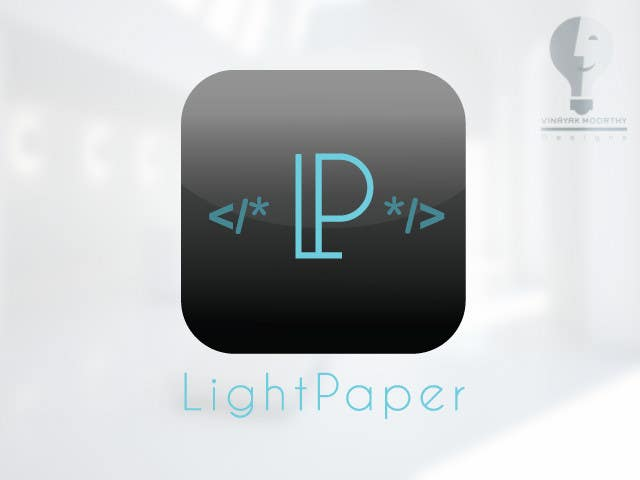 #102 for Design a Logo for LightPaper app by moorvina