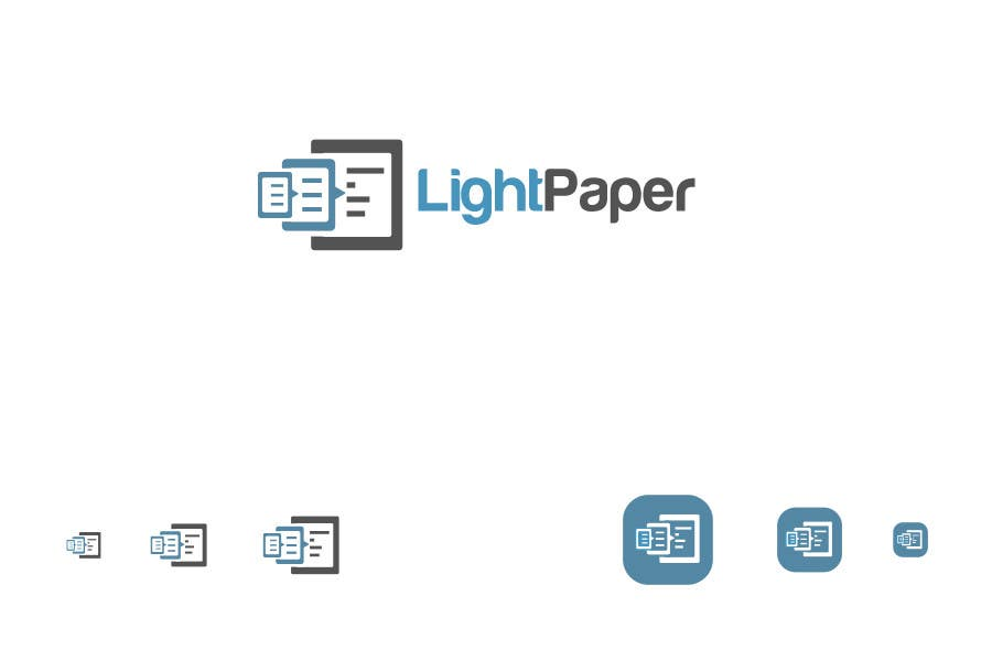 #31 for Design a Logo for LightPaper app by commharm