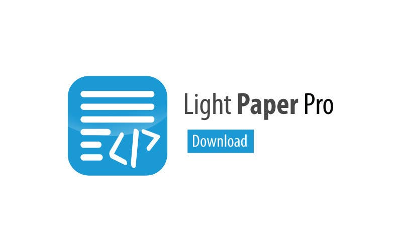 #9 for Design a Logo for LightPaper app by suneshthakkar