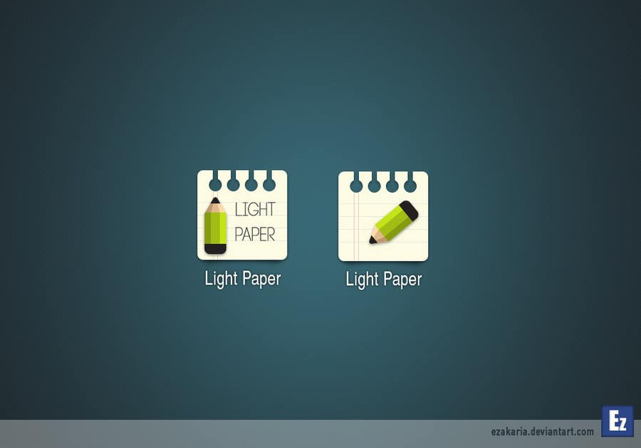 #75 for Design a Logo for LightPaper app by ezakaria2013