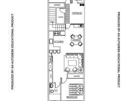 #57 para Layout a 2 family/3 story  townhouse por samanishu12