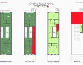 #51 para Layout a 2 family/3 story  townhouse por arzumanyan