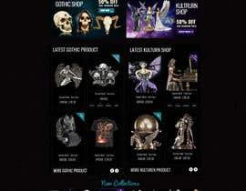 #54 for Redesign Gothic/Fantasy webshop (5 pages) af MagicalDesigner