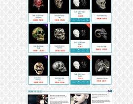 #57 for Redesign Gothic/Fantasy webshop (5 pages) af MagicalDesigner