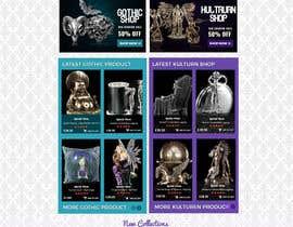 #74 for Redesign Gothic/Fantasy webshop (5 pages) af MagicalDesigner