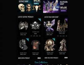 #76 for Redesign Gothic/Fantasy webshop (5 pages) af MagicalDesigner