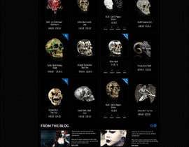 #77 for Redesign Gothic/Fantasy webshop (5 pages) af MagicalDesigner