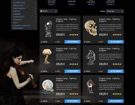 #48 for Redesign Gothic/Fantasy webshop (5 pages) af seguro
