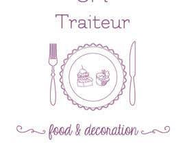 nº 13 pour Logo for a food company / Logo pour un Traiteur par ElenaGold