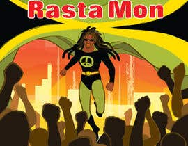 #14 for Reggae Peace Superhero Pic af sophialotus