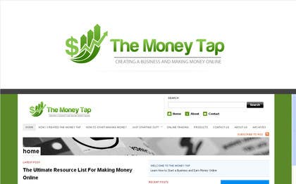 #99 for Design a Logo for my online Blog: The Money Tap by nabudhukka