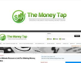 #111 para Design a Logo for my online Blog: The Money Tap por nabudhukka