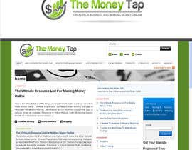 nº 172 pour Design a Logo for my online Blog: The Money Tap par nabudhukka