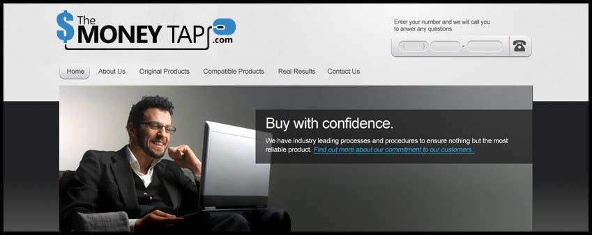 Konkurrenceindlæg #108 for Design a Logo for my online Blog: The Money Tap