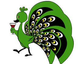 #3 for Boozy Peacock Mascot Design af gowthamisetty