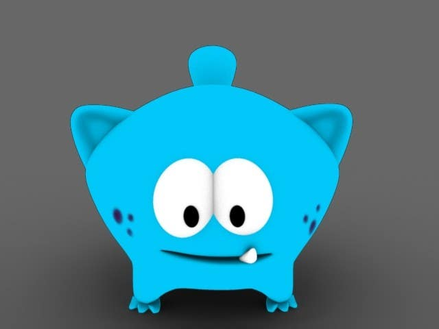#32 for Design 3 cute game characters (3D) by mgamboa75