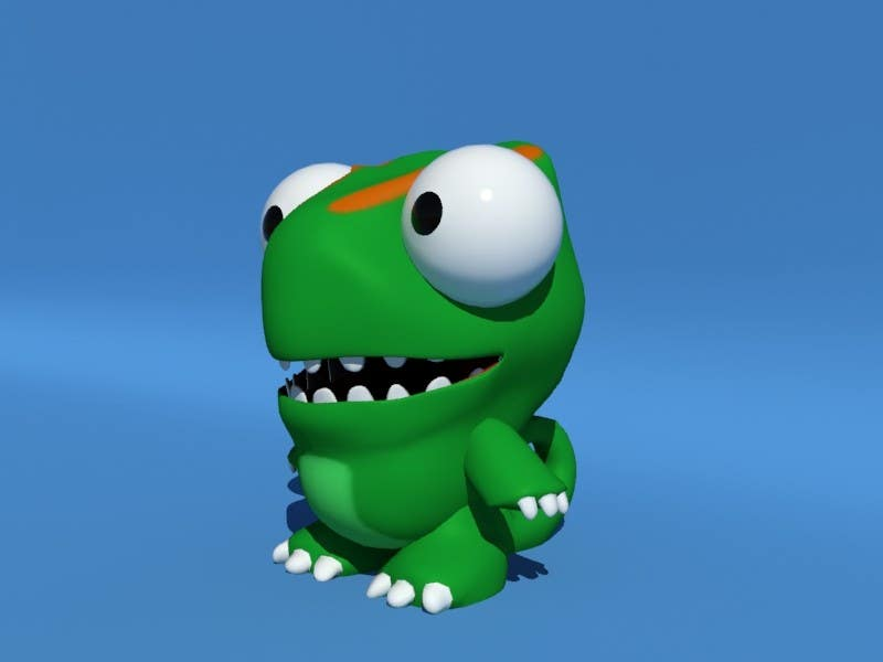 #41 for Design 3 cute game characters (3D) by fatamorgana