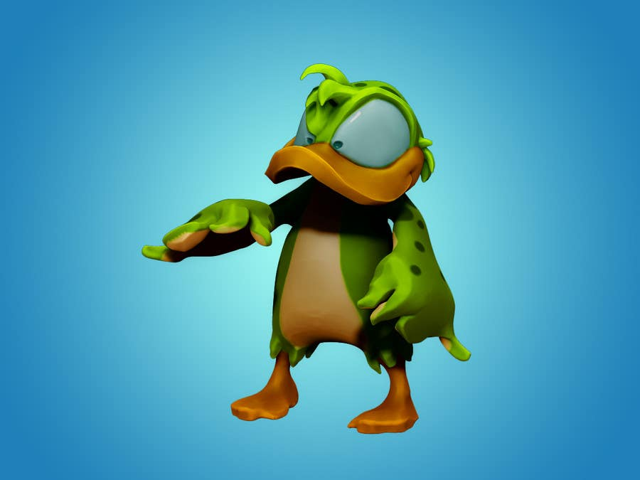 #40 for Design 3 cute game characters (3D) by RubenDev