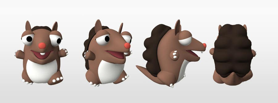 #25 for Design 3 cute game characters (3D) by Shift2ArtStudio