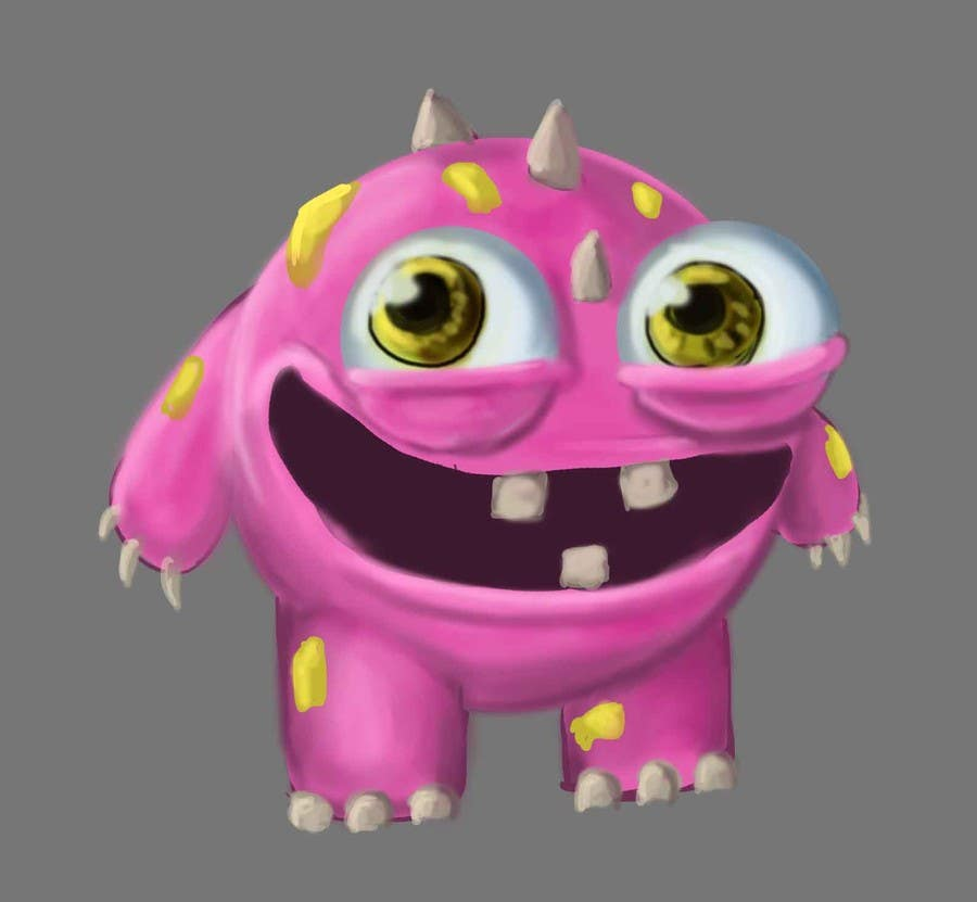 #7 for Design 3 cute game characters (3D) by eduardobravo