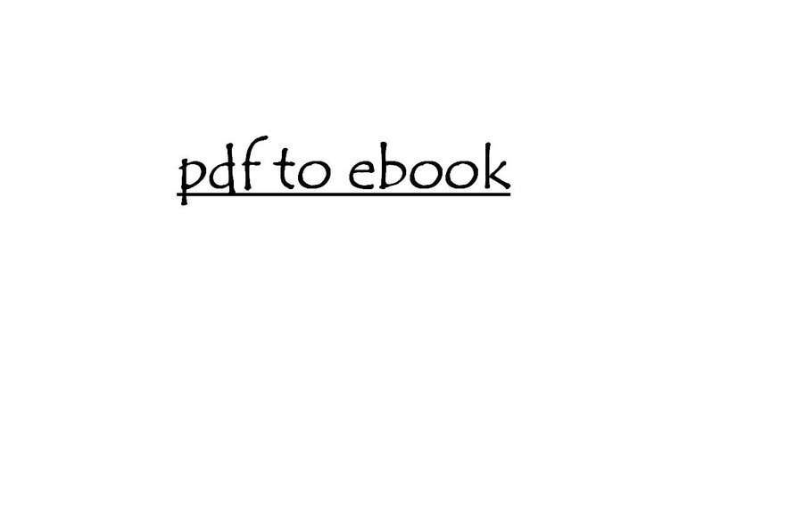 #29 dla Type Out Simple Ebook From Scanned PDF Provided. przez SkyLabInfotech