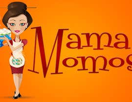 nº 26 pour Design a Logo for Mama Momos par digitalvision13