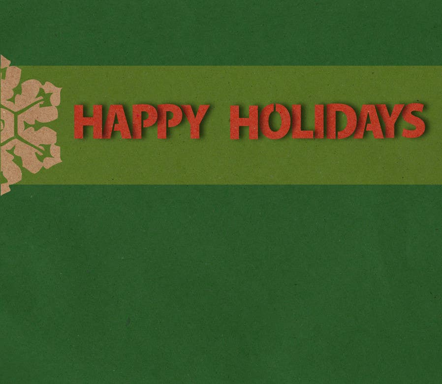 Penyertaan Peraduan #32 untuk Graphic Design for A new holiday card project for the CFP Board
