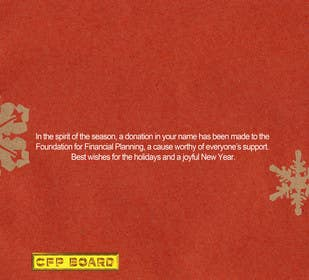 #30 para Graphic Design for A new holiday card project for the CFP Board por waltdiz
