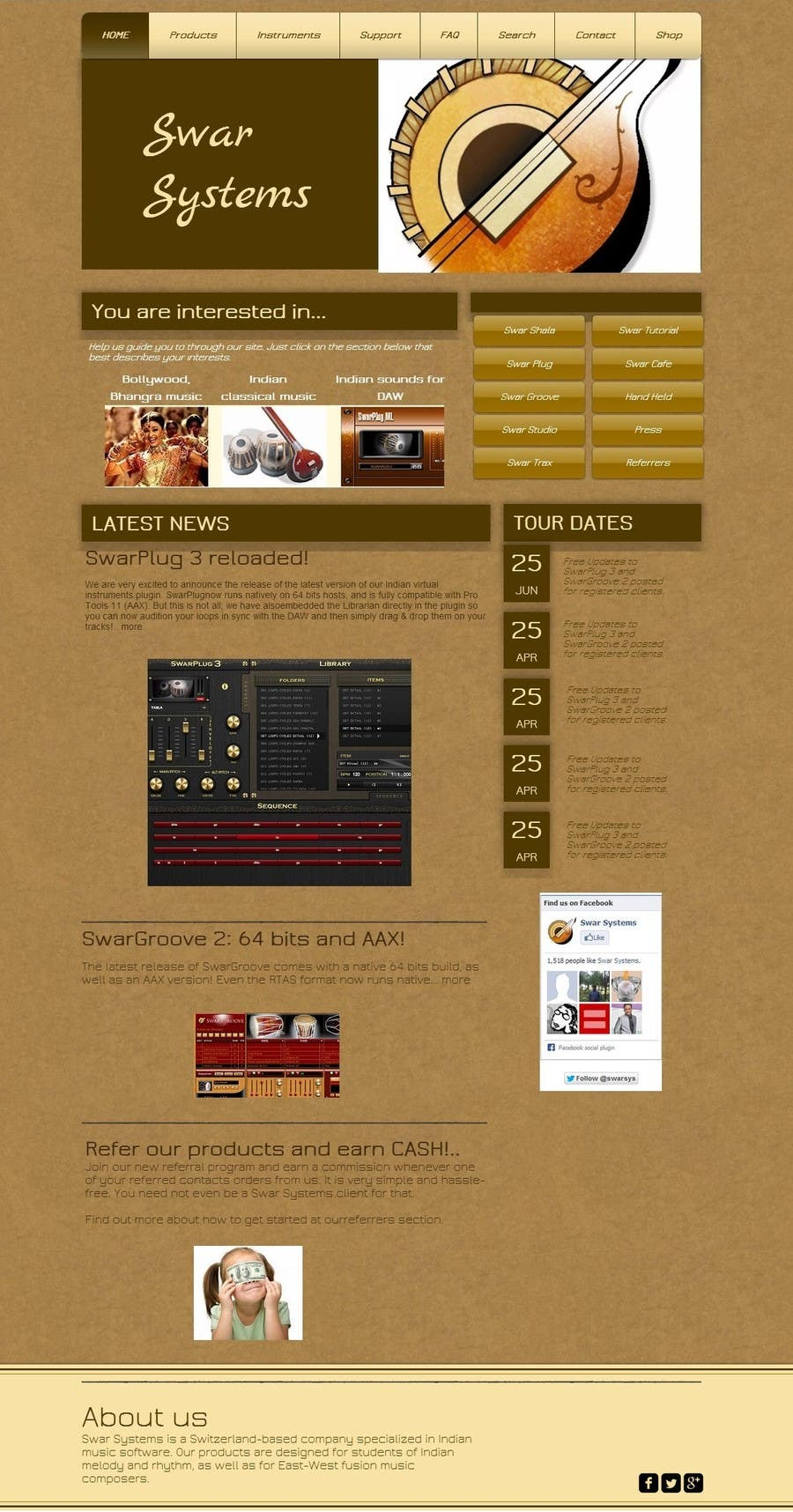 #5 for Revamp a web site by enzob88