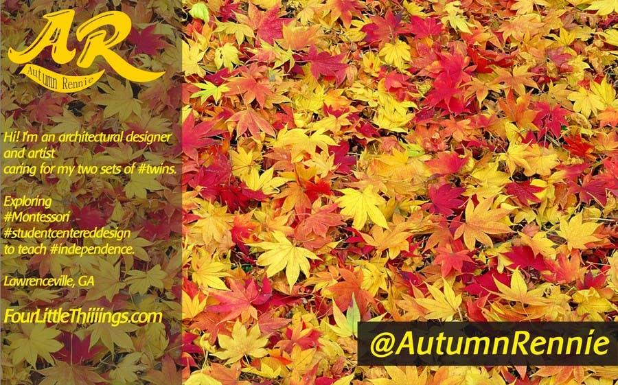 Bài tham dự cuộc thi #                                        2                                      cho                                         Design a Twitter background for @AutumnRennie