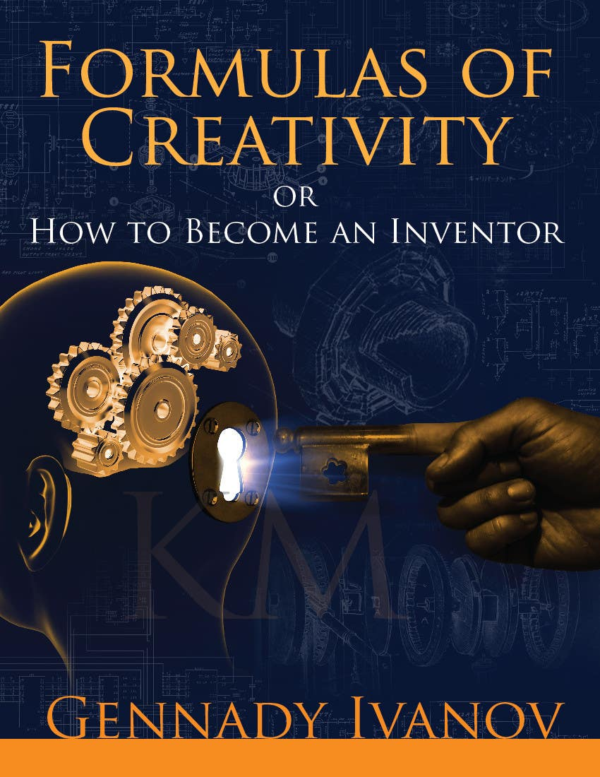 """Kilpailutyö #32 kilpailussa Illustrate the cover of the book """"FORMULAS OF CREATIVITY OR HOW TO BECOME AN INVENTOR"""" for me"""