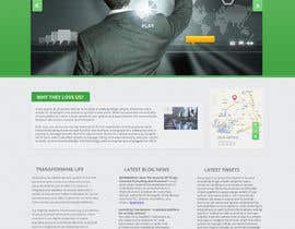 #13 for Design a Website Mockup for SyN af dhyanaja